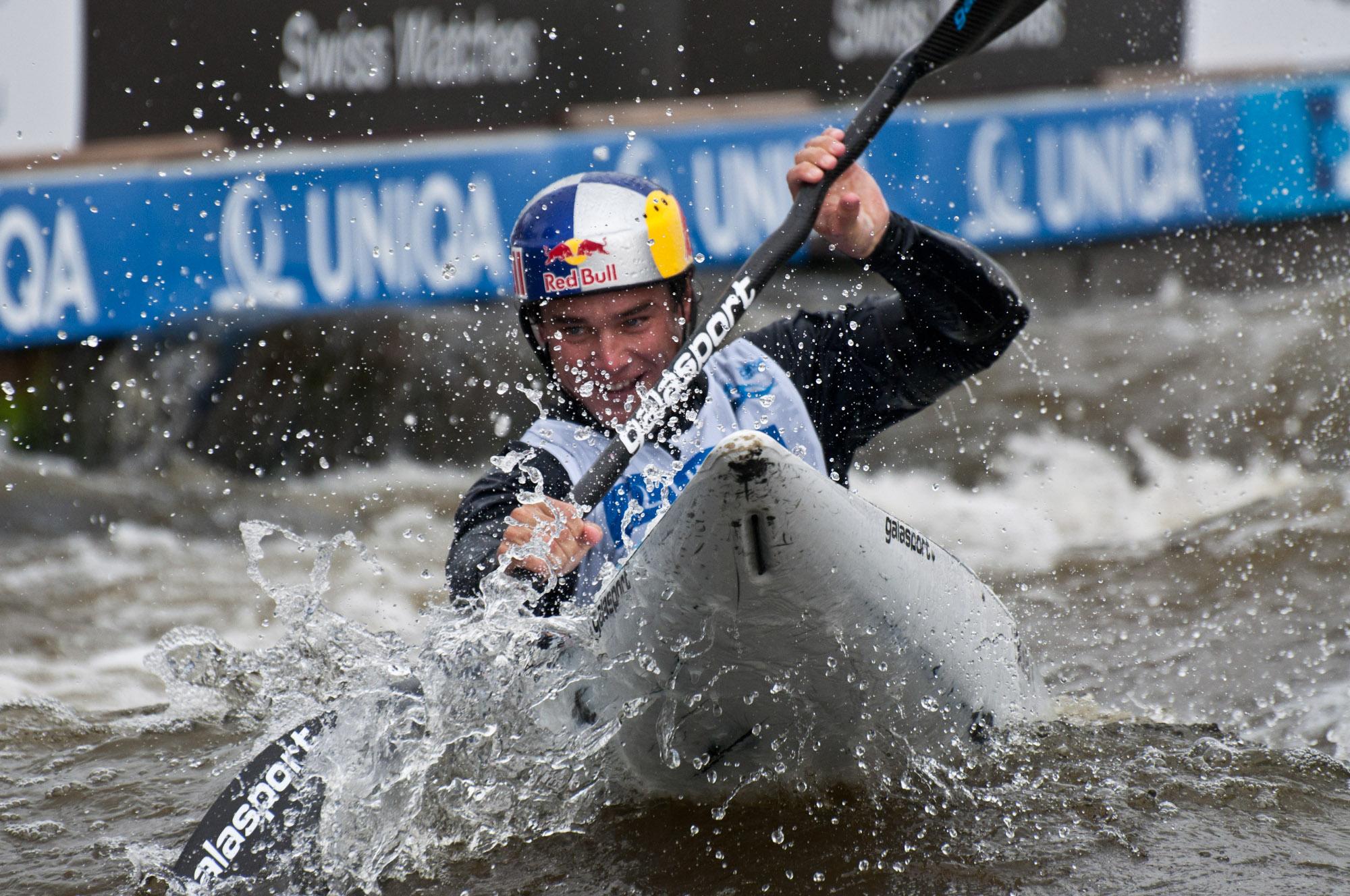 World cup canoe slalom 2012 - Vavřinec Hradílek