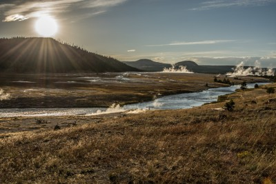 Snake river at Sunset - Yellowstone N.P.