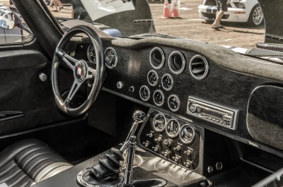 Shelby Daytona Coupe cockpit