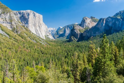 Tunnel view - Yosemite  N.P.