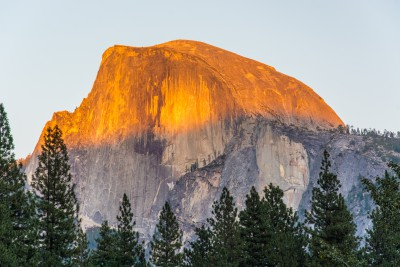 Half Dome at Sunset - Yosemite  N.P.